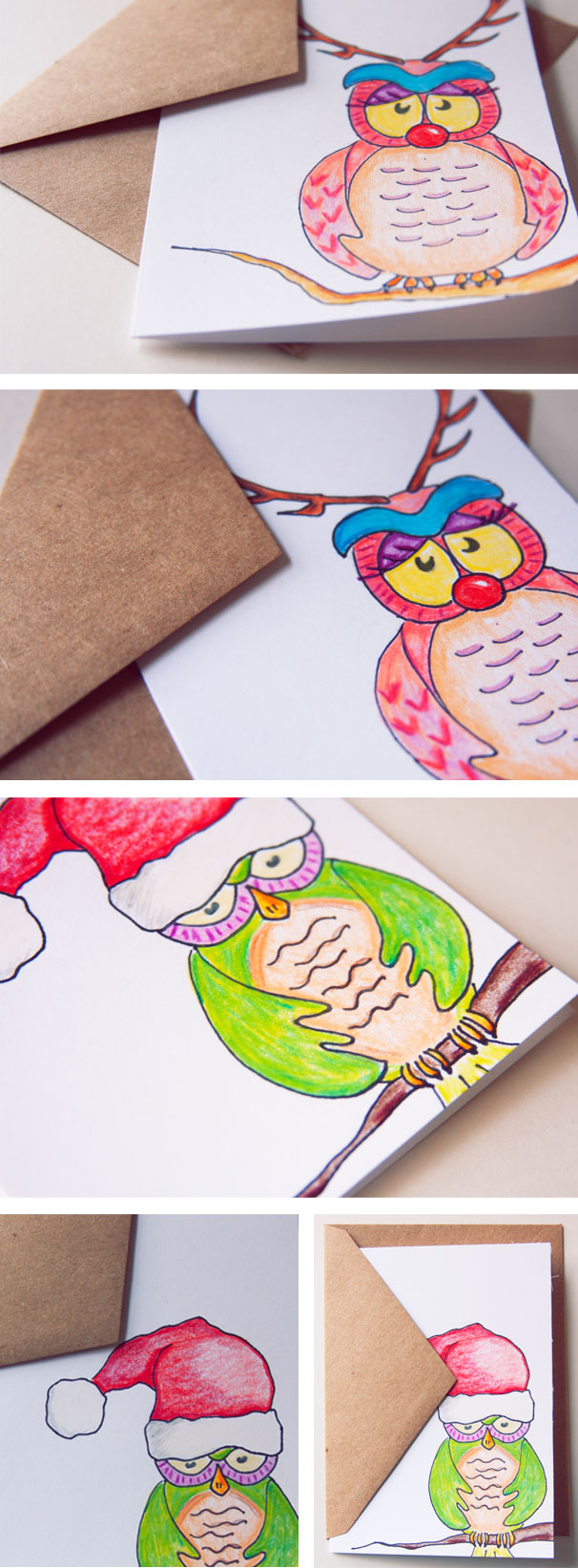 Owls in disguises