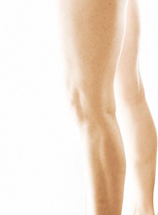 self portrait - legs