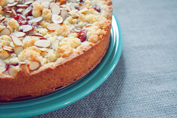 Cherry Streusel Torte