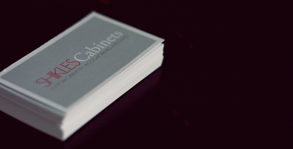 Business Card for Shikles Cabinets